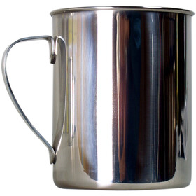 Basic Nature Stainless steel cup poli 400 ml